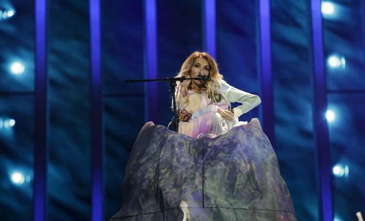 Юлия Самойлова на Евровидении будет в платье, маскирующем инвалидную коляску