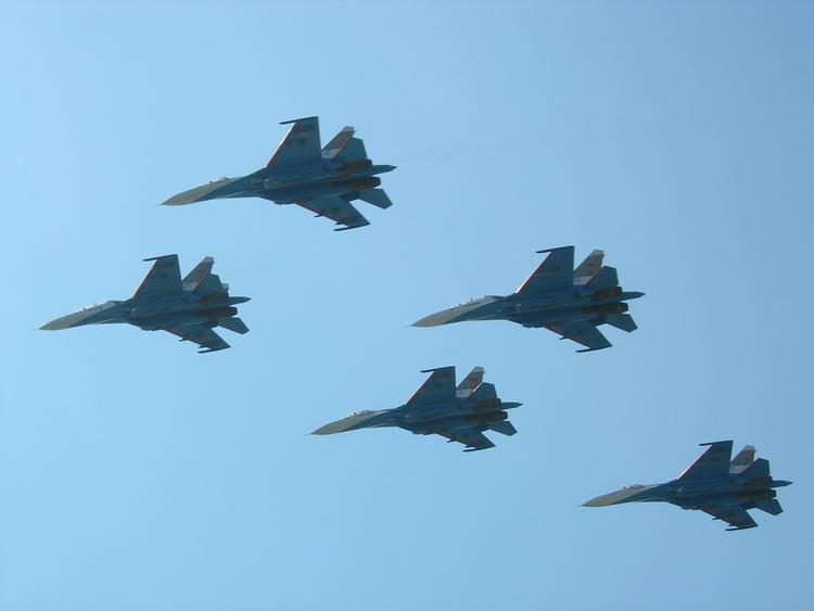 Выложены кадры уничтожения авиацией России баз «Аль-Каиды» в Сирии