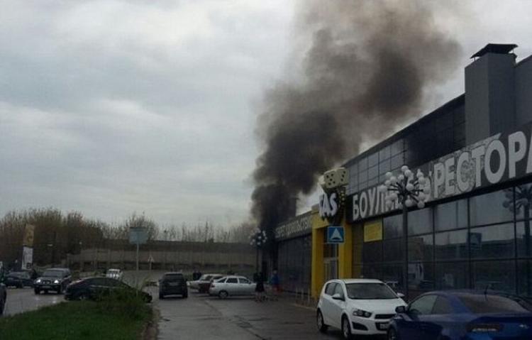 В Иваново горел торговый центр