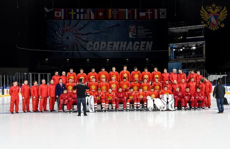 Сборная России разгромила команду Австрии на чемпионате мира по хоккею