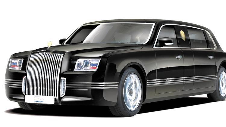 Путин пересядет на лимузин «Кортеж»