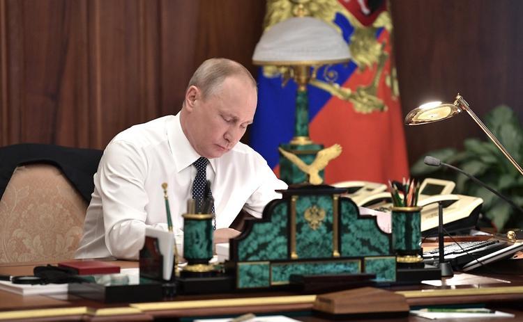 Путин предложил кандидата на должность премьера