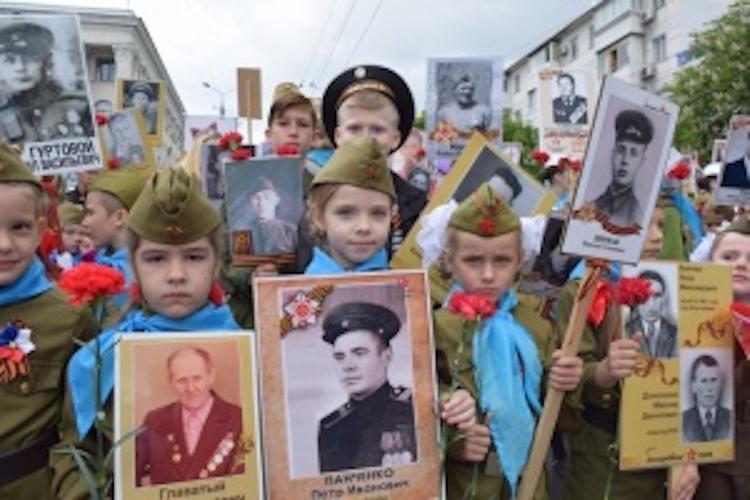 Акцию «Бессмертный полк» в Симферополе  будут возглавять дети