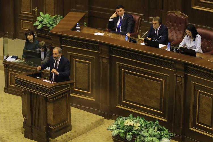 Никол Пашинян вновь выдвинут на пост премьера Армении