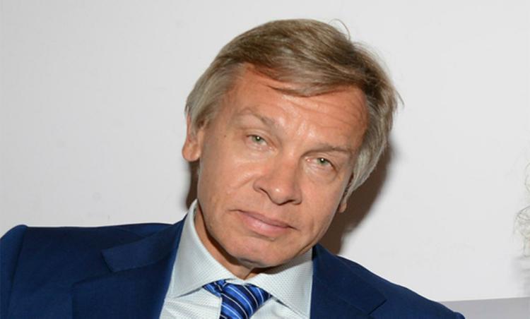 Пушков высмеял пафосное заявление президента Эстонии