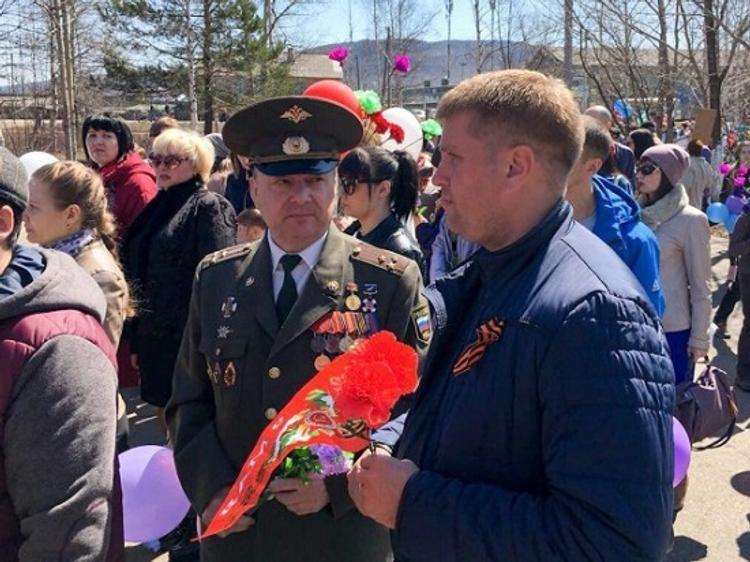 На праздниках сахалинский справедливоросс Александр Анистратов работал в районах