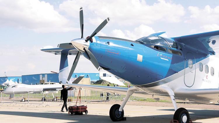 В воздух поднялся второй пассажирский самолет нового поколения  МС-21-300