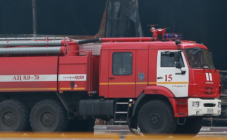 На северо-востоке столицы вспыхнул пожар в многоэтажке, спасены 15 человек