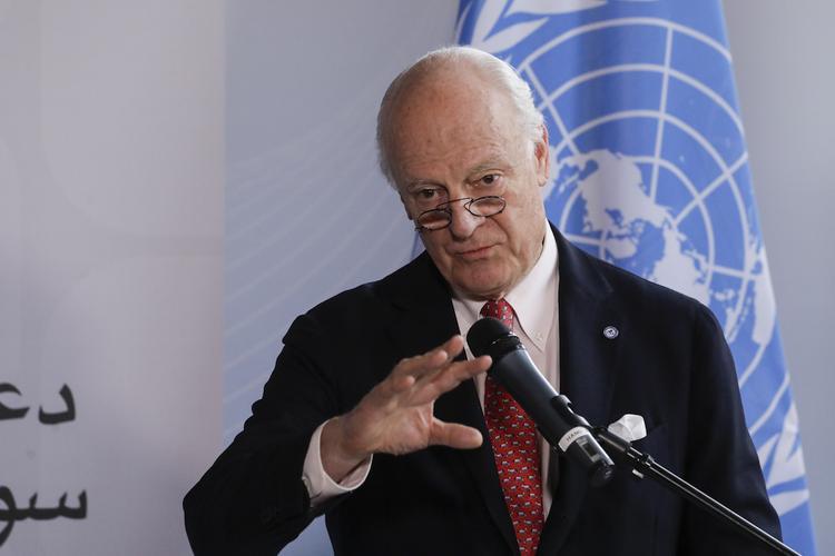 Де Мистура прибыл в Астану для переговоров по Сирии