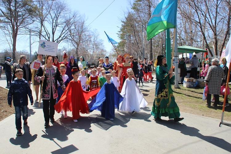 На Сахалине отметили национальный татарский праздник
