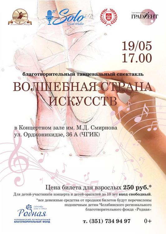 В Челябинске дети подготовили благотворительный спектакль