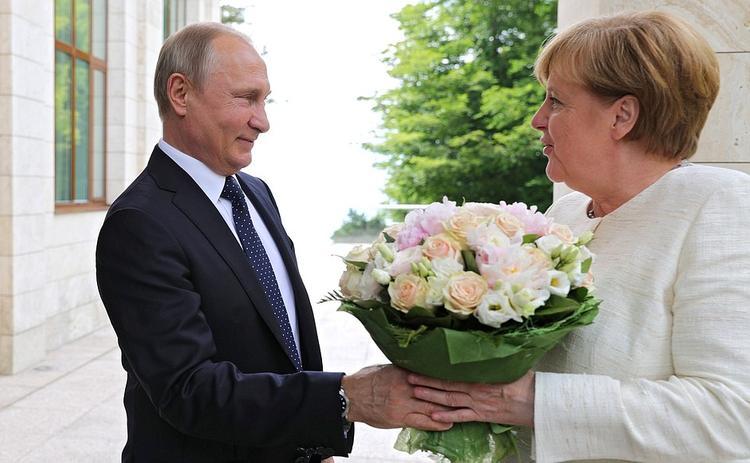 О чем говорили Путин и Меркель