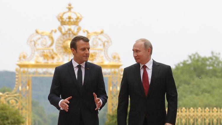 Путин и Шохин уточнили высказывание Макрона о размерах Европы