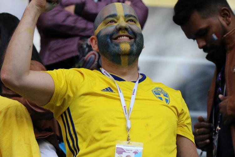 Шведы в четвертьфинале!   Швеция - Швейцария 1:0