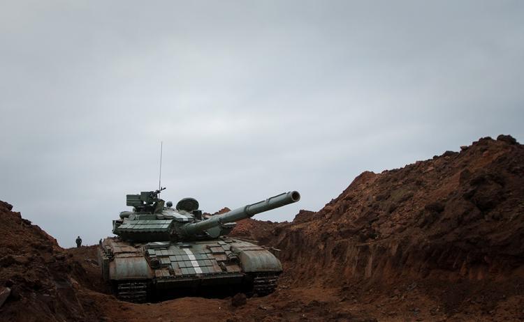 Украинские танки «уничтожили корабли» условного противника на побережье Донбасса