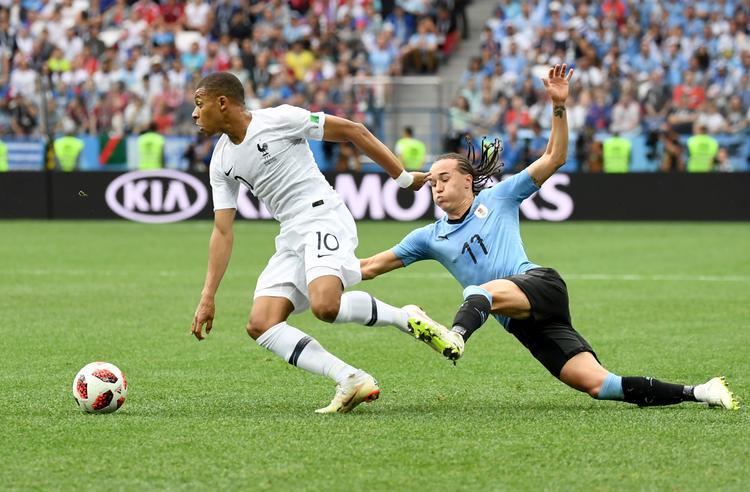 Франция -  Уругвай   2 : 0