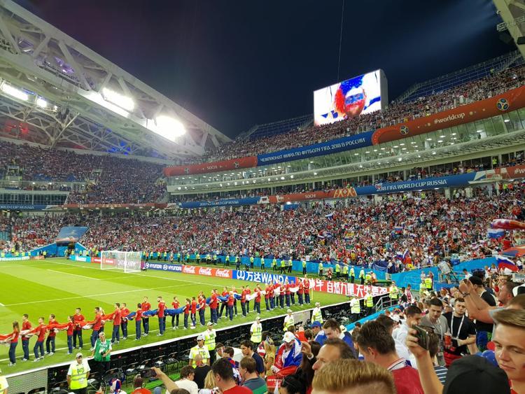 Стартовый состав сборной России на матч с Хорватией