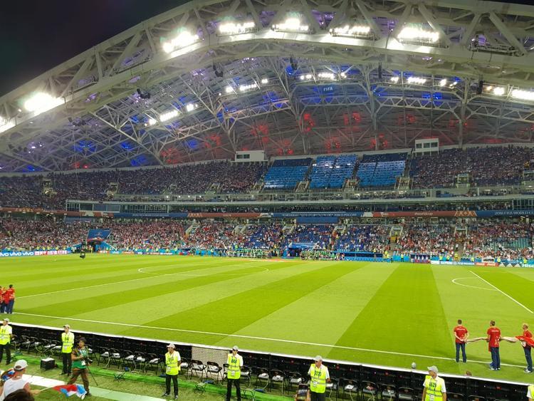 Денис Черышев открыл счет в матче с Хорватией