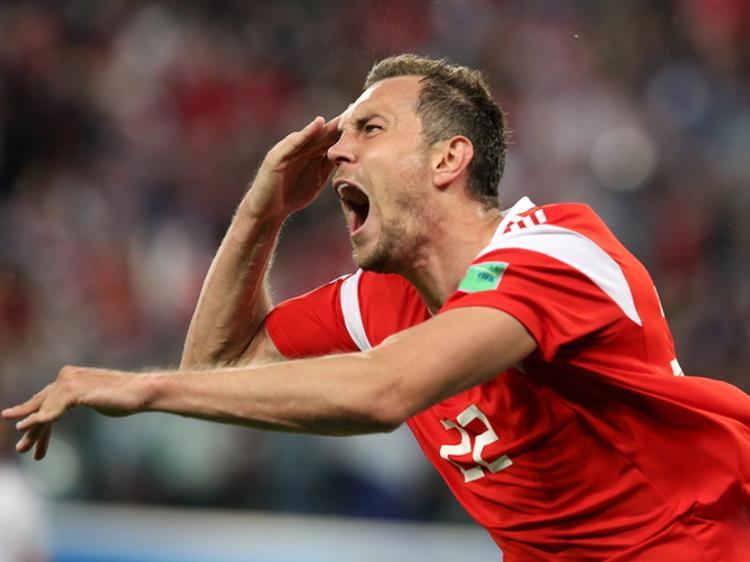 Дзюба со слезами на глазах комментировал проигрыш сборной Хорватии