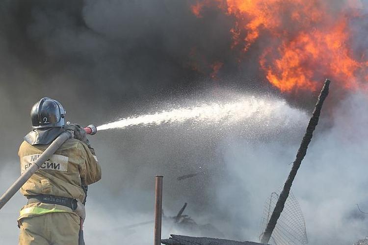 На Иркутском авиазаводе ликвидирован пожар