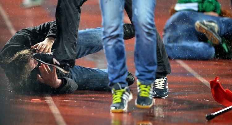 В центре Москвы в массовой драке мужчина убит одним ударом ноги