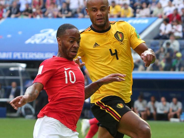 Бронзовые медали у сборной Бельгии. Англия уступила Бельгии 0:2