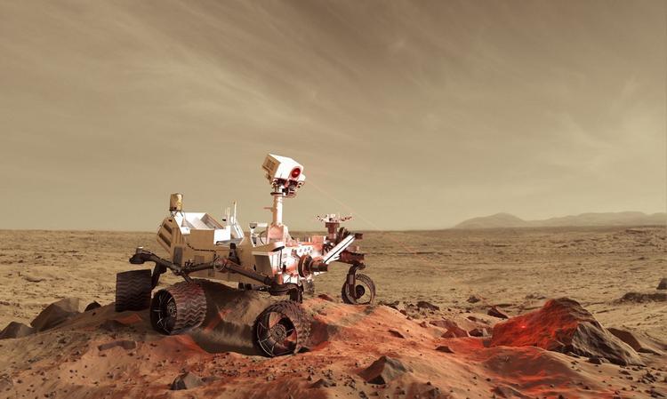 У марсохода NASA не получилось пробурить странную скалу