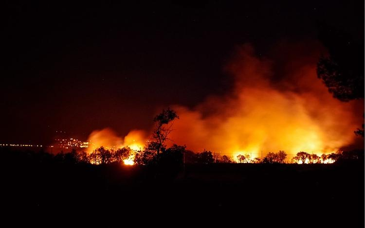 Специалисты назвали вероятную причину пожаров в Греции