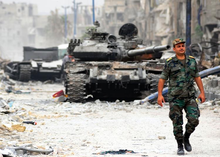 Появилось видео ударов по взятой с участием ВКС РФ «крепости» ИГ на юге Сирии
