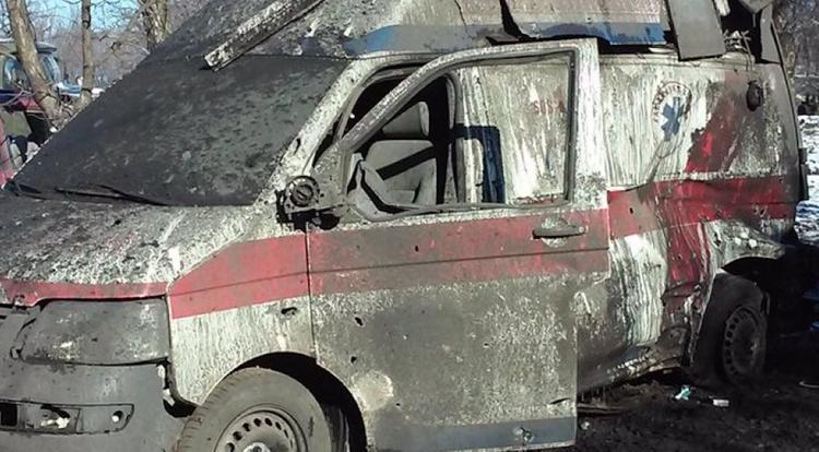 На Донбассе украинские военные убили медиков