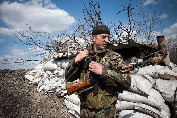 Власти ДНР: украинские военные начали подготовку к наступлению в Донбассе
