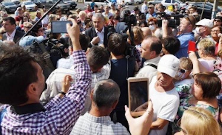 В Армянск приехали должностные лица, чтобы  контролировать ситуацию