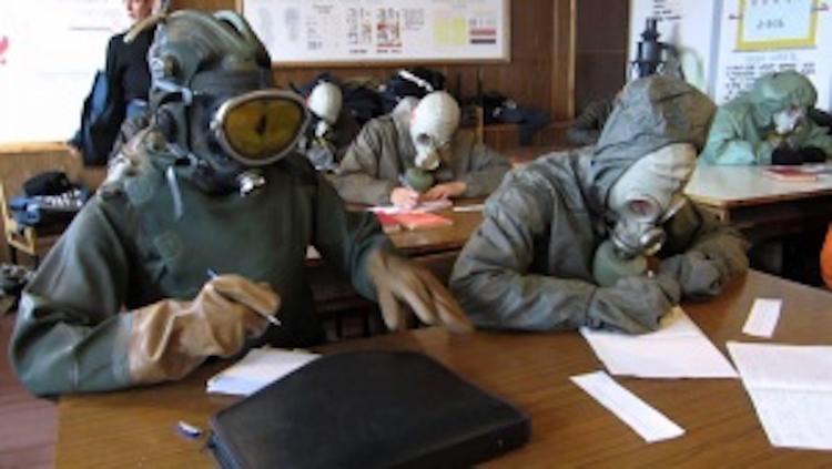 Армянск: школьников отправили в санатории, завод «Крымский Титан» остановлен