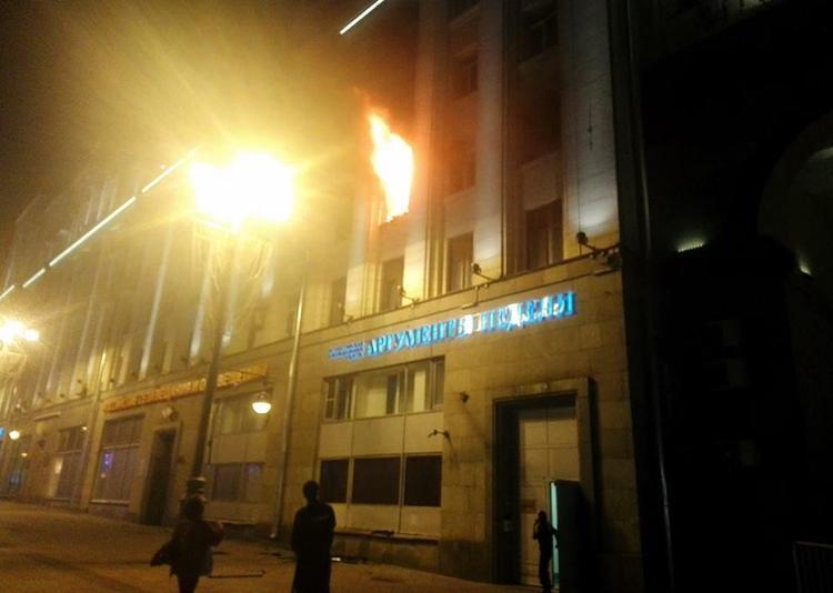 «АН» спасли – спасибо столичным огнеборцам!