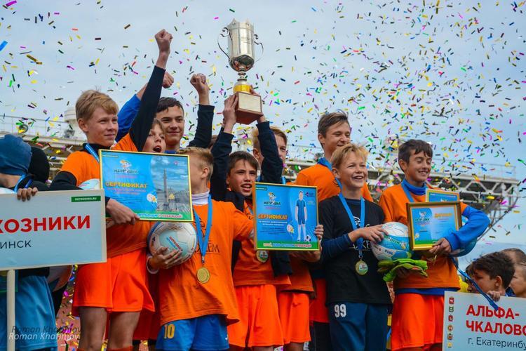 Лучшие футболисты фестиваля «Метрошка» поедут в Питер к «зениту»