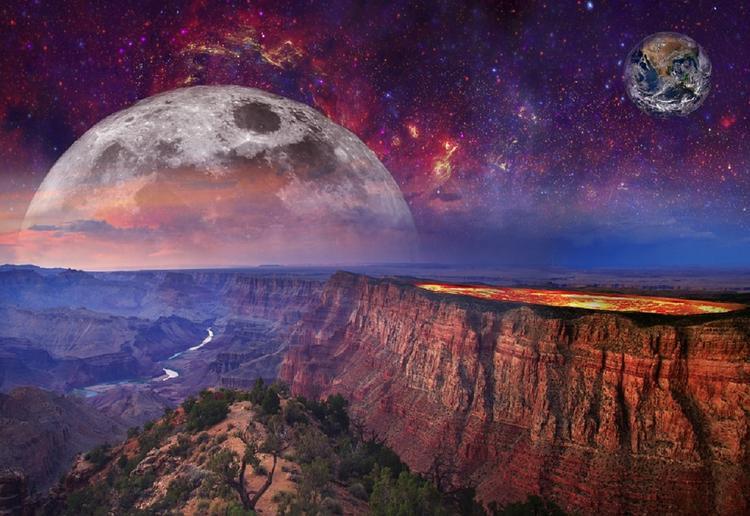 В ночь на четверг москвичи увидят сближение Марса и Луны