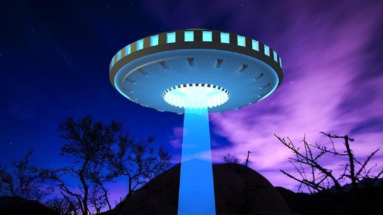 В небе над Мексикой сняли на видео яркие огни трех неподвижных НЛО
