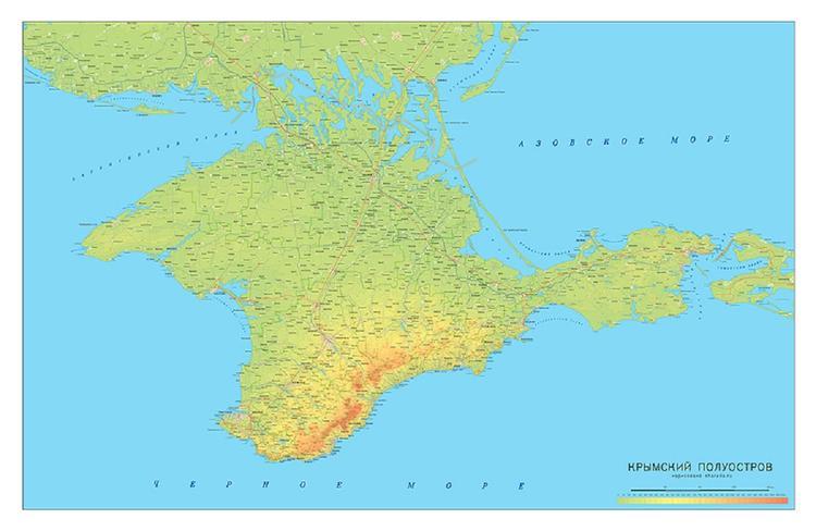 На Украине чиновник показал на презентации карту с российским Крымом