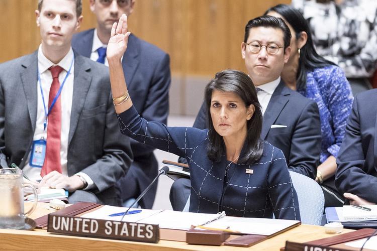 Хейли раскритиковала ООН за призыв к США снять блокаду с Кубы