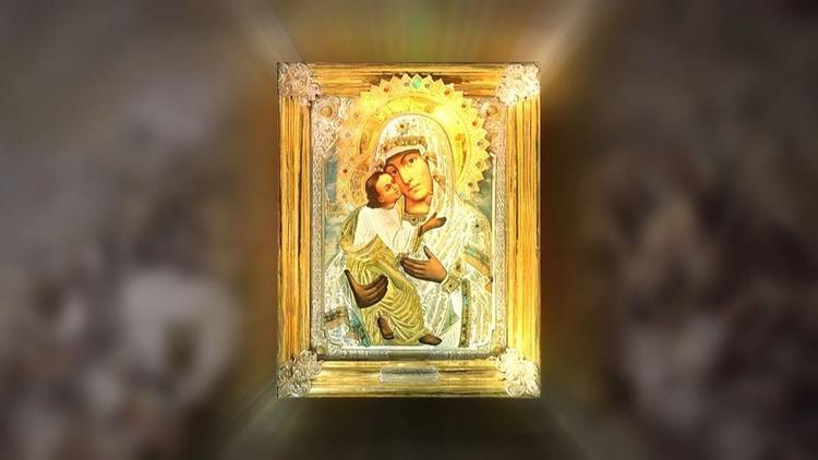 Чудотворную икону «Умиление» доставили в Москву