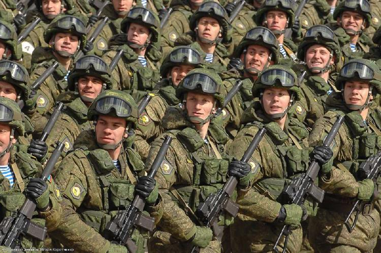 Российскую армию признали сильнейшей в Европе