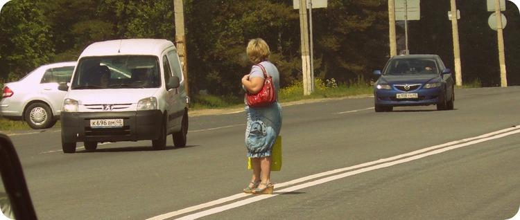 Дорожные войны между водителем и пешеходом. Побеждают пешеходы