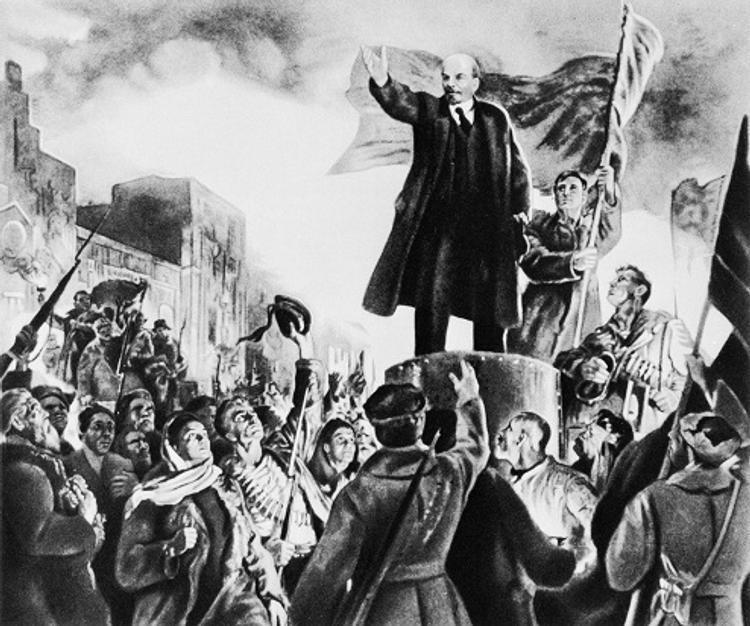 Почему Ленин раздул пожар революции?