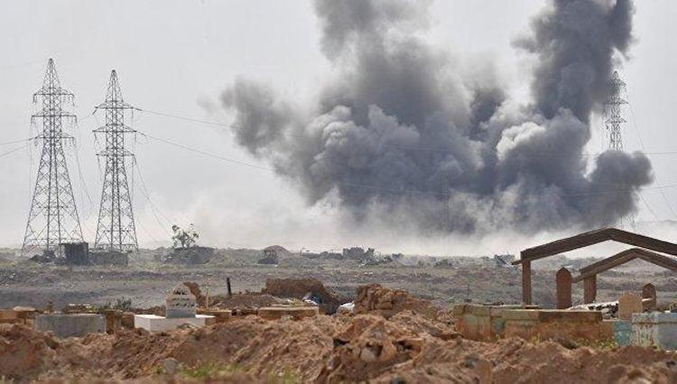 Израиль вновь бомбит Сирию