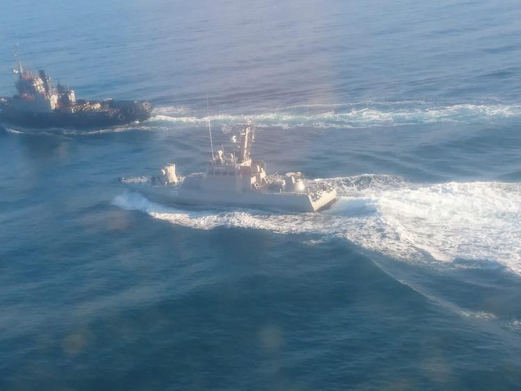МИД Украины обвиняет Россию в нарушении международных морских правил