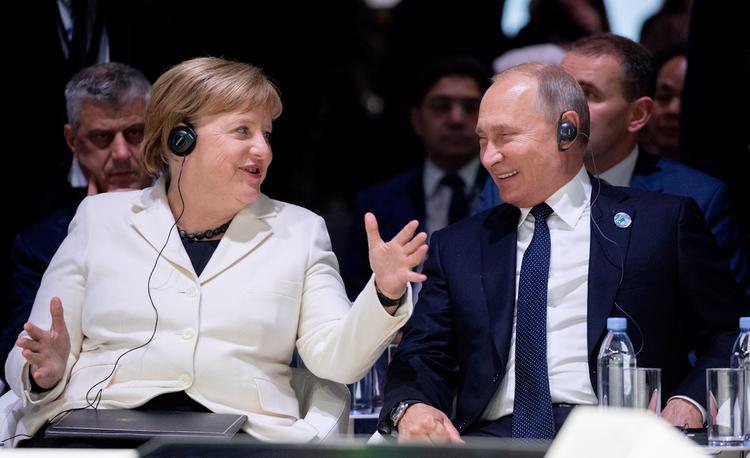 Путин и Меркель позавтракали в Буэнос-Айресе