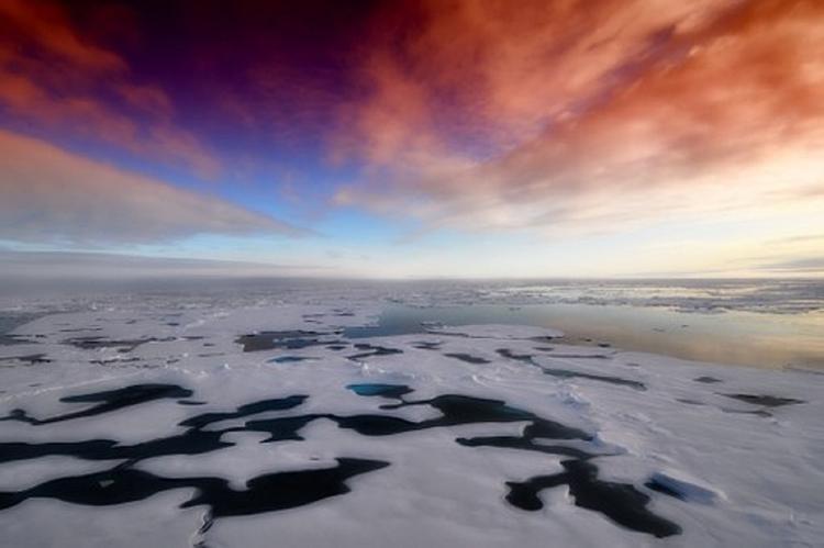 Уфологи рассмотрели в Антарктиде разбитый НЛО