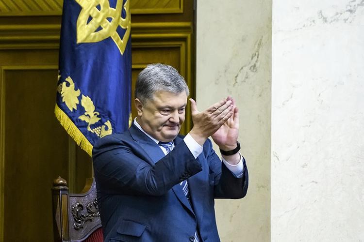В СМИ попала  видеозапись  выступления пьяного Порошенко