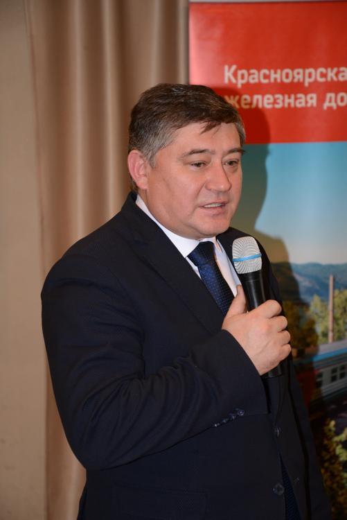 Об итогах Дни РЖД в Красноярске