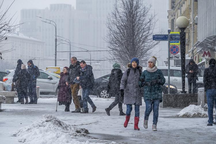 Минувшей ночью в Москве выпало более 10% месячной нормы осадков